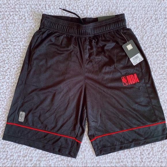 NBA basketball shorts for men's 2 pockets S M L XL